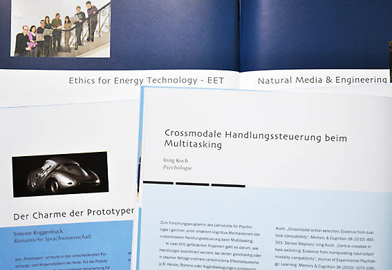 Research project brochures